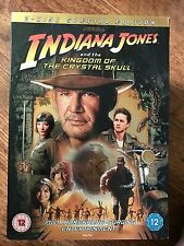INDIANA JONES & EL REINO DE LA CALAVERA DE CRISTAL GB 2-Disc DVD con/ Funda