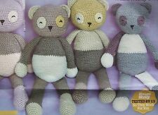 Panda Bear Crochet Pattern /Toys/Double Knit/ Mr Bean Teddy