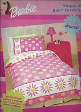 Barbie Daisy - Single Bed Quilt Cover Set - Cotton/Polyester  - Great Gift Idea!
