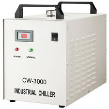 110V CW-3000DF Thermolysis Industrial Water Chiller 0.8KW/1.5KW Spindle Cooling