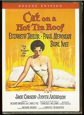 CAT ON A HOT TIN ROOF Elizabeth Taylor Paul Newman Widescreen Deluxe Ed. NEW DVD