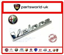 Alfa Romeo Giulietta & MiTo Veloce Badge 50528833 Brand New Genuine