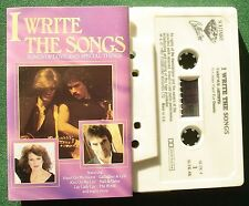 I Write the Songs Byrds Hall & Oates Gallagher & Lyle + Cassette Tape - TESTED