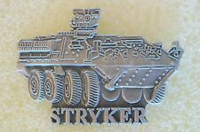 US USA Stryker Armored Vehicle Military Hat Lapel Pin