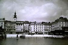 Privat Dia Österreich Gmünden Traunsee Gmundner Hafen Rathausplatz von 1941