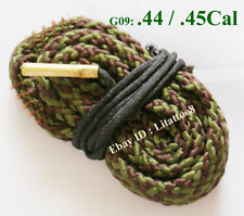 Bore Snake Cleaning Boresnake Shotgun Pistol Barrel .44 Cal .45 Caliber Cleaner