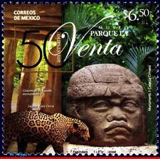 8-40 MEXICO 2008 LA VENTA PARK MUSEUM, SCULPTURE, OUNCE, ARCHAEOLOGY, MNH