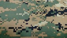 """WOODLANDS MARPAT CAMOUFLAGE AUTO HEADLINER CAMO FABRIC 3/16"""" FOAM BACK BY THE YD"""