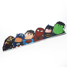 Crooked Wry Neck Super Hero Bumper/Windshield/Car/Van/Vehicle Reflective Sticker