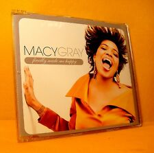 MAXI Single CD Macy Gray Natalie Cole Finally Made Me Happy 2 TR 2007 Soul PROMO