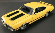 ACME 1970 OLDSMOBILE 442 W30 SEBRING YELLOW VINTAGE STREET GMP DIECAST CAR 1:18