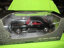 1967 Chevy Camaro 67 authentic replica 1/18 black VHTF collectible nice detail