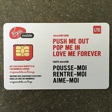 Virgin Mobile Micro SIM Card Canada (Brand New)