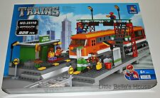 Ausini TRAINS Set #25110 Building Block Toy 928pcs city station (lego compatible