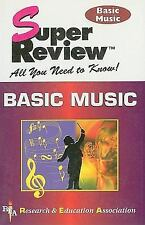 Super Reviews Study Guides: Basic Music by M. Fogiel and Research and...