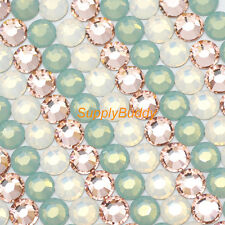 Swarovski Rhinestone ss5 Mix Color Pacific Opal White Opal Vintage Rose Nail Art