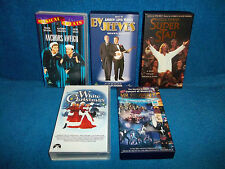MUSICALS x 5 VHS PAL VIDEOS - ANCHORS AWEIGH, BY JEEVES, SUPERATAR, MR PRODUCER