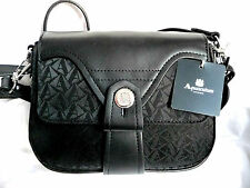 AQUASCUTUM Brand New ORIGINALE NERO SHOULDER BAG con tag RRP £ 225