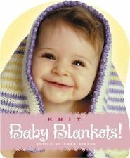 Knit Baby Blankets! by Gwen Steege (2003, Hardcover)