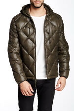 Andrew Marc Irvington Hooded Down Jacket Olive 2XL NWT $215