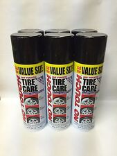 QTY:6 No Touch Tire Care Cleaner Shine Protectant 18 oz. Spray Can FREE PRIORITY