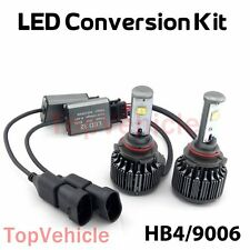 60W 7600LM KIT Car 9006/HB4 HID White 6000K CREE LED Conversion Headlight Bulbs