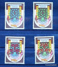 GUINÉE GUINEA  série complete   Scott # 194/5 B17/8  TIMBRE NEUF **   LO195