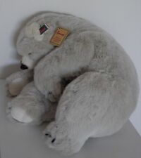 ORSO BEAR OURS DER Bär OSO PELUCHE PLUSH marca RAMAT L 60 cm MADE IN ITALY