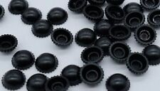100pcs LEGO CITY Black Pixie ROBBER HATS Minifigure accessories Genuine & New
