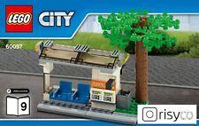 Lego® City Haltestelle für Bus oder Bahn aus Set 60097 Stadtzentrum NEU