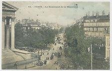AK paris-le boulevard de la Madeleine (e184)