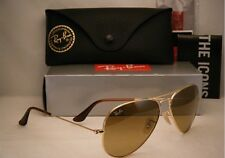 New Mens Sunglasses Ray-Ban RB3025 58mm 001/51 Aviator Gold/Brown