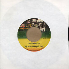 "Big Youth / Barrington Levy ‎– Beauty Queen 7"" lp - NEW COPY - Jah Life US PRESS"