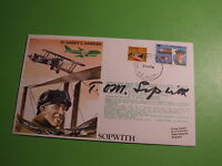TEST PILOT SERIES RAF TP1 COVER SIGNED TOM SOPWITH