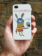 Brainbox Candy Rabbit funny iPhone 5/5s Case/Cover sick Christmas present gift