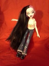 MGA Entertainment Bratzillaz two faced! (Hot Pink/Sleek Black Long Hair Dressed)