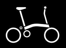 Brompton bike sticker