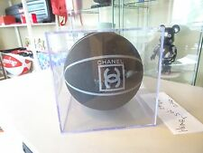 NEW 100% AUTHENTIC CHANEL BASKETBALL BLACK GREY CC COLLECTORS ITEM COCO RARE