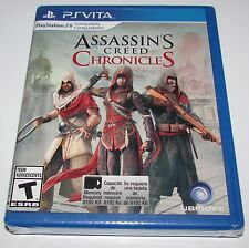 Assassin's Creed Chronicles for Playstation Vita Brand New