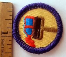 Girl Scout Junior 1980-2001 PRINTS AND GRAPHICS BADGE Paint Ink Roller Patch
