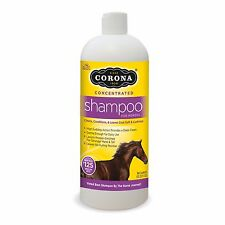 Corona Concentrated Shampoo for Horses.  1Qt.  Up to 125 Washes per Bottle