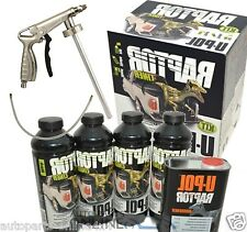 UPOL Raptor Ultra Tough Urethane Truck Bed Liner Coating BLACK & SPRAY GUN