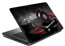 meSleep Headphones Laptop Decal - Laptop Skin- Size-14.1 to 15.6 inches
