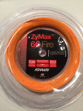 ASHAWAY ZYMAX 66 FIRE 200M COIL BADMINTON RACKET STRING ORANGE COLOUR