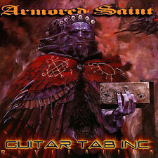 Armored Saint Guitar & Bass Tab REVELATION Lessons on Disc Anthrax