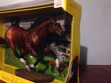 "Breyer Bay Race Horse ""Frankel"" Model NIB Spirit Of The Horse"