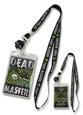 **License** Black Rock Shooter Dead Master Badge ID Holder Lanyard #37515