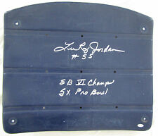Lee Roy Jordan Double Inscribed Dallas Cowboys Texas Stadium Seat