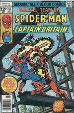 Marvel Team Up  #65   VF  1st US Captain Britain!