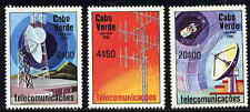 CAPE VERDE 1981 SPACE - TELECOMMUNICATIONS STAMPS - MINT COMPLETE SET!